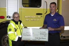 MTVFD rceives grant from Dryer Vent Wizard